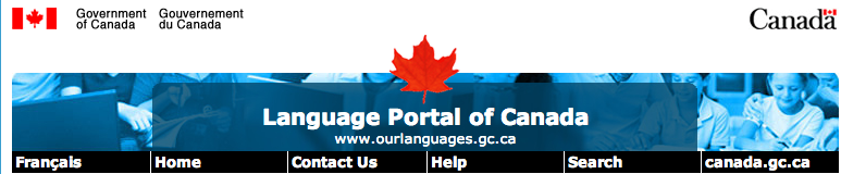Language Portal Header